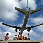 American Airlines landolás